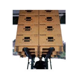 京阪紙工の強化ダンボールを使用したダンボールパレットは軽くて燻煙処理不要で輸送費削減のコストカットに